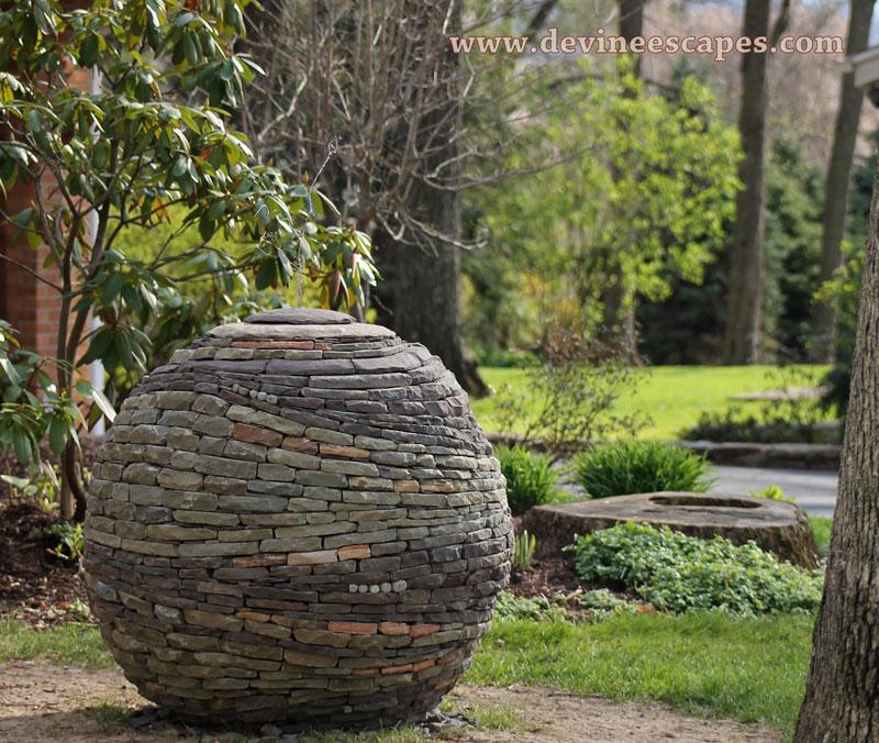 Bon Dry Stone Garden Spheres By Devin Devine (7)