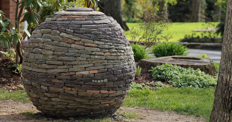 Amazing Dry Stone Garden Spheres by DevinDevine