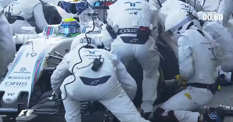 The Fastest F1 Pit Stop Ever (1.92 seconds)