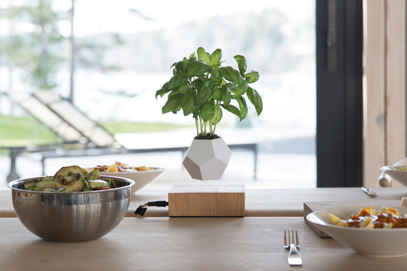 These Floating Pots Let Your House Plants Levitate andSpin