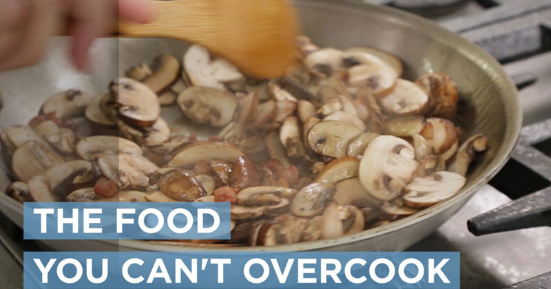 A Food Scientist Demonstrates How You Literally Can't OvercookMushrooms