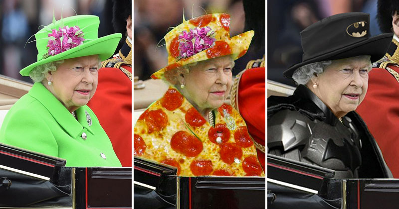 The Queen Wore a 'Green Screen' Outfit and the Internet Went