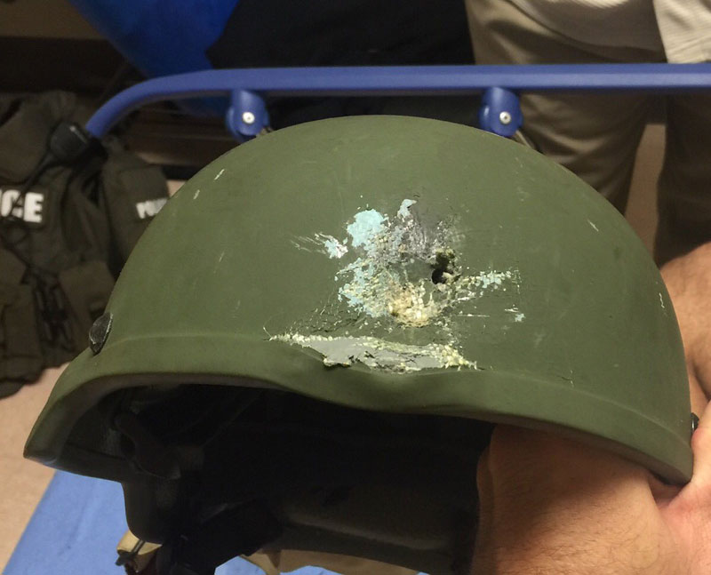 Kevlar Helmet Saves Officer's Life During Shootout With Orlando Killer