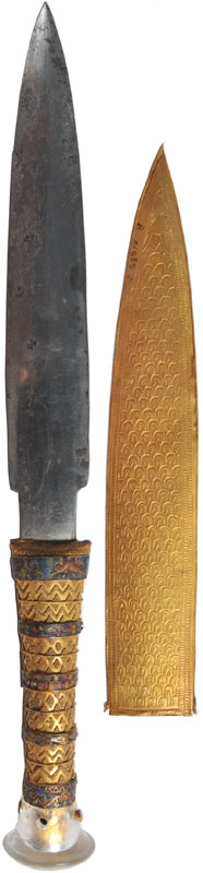 Scientists Confirm King Tut's 3300-year-Old Dagger Made from Meteorite (4)