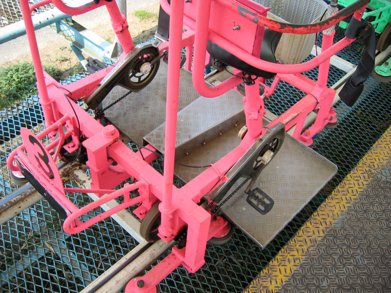 sky cycle pedal powered rolloer coaster japan (2)