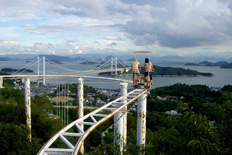 Japan's Pedal Powered Roller Coaster Lets You Soak in YourSurroundings