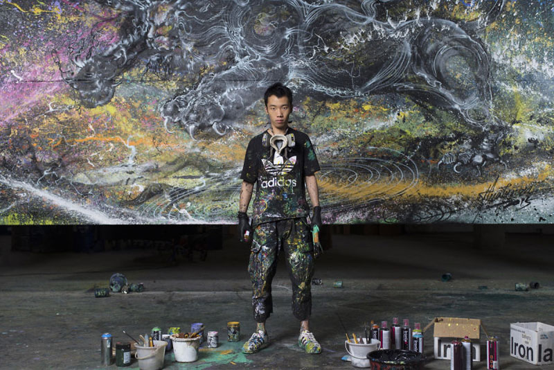 splattered ink animal paintings by chen yingjie aka hua tunan (15)