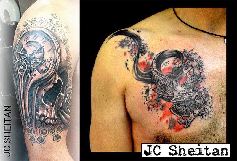 Tattoo Artist Turns Prosthetic Arm Into Badass Tattoo Machine (4)