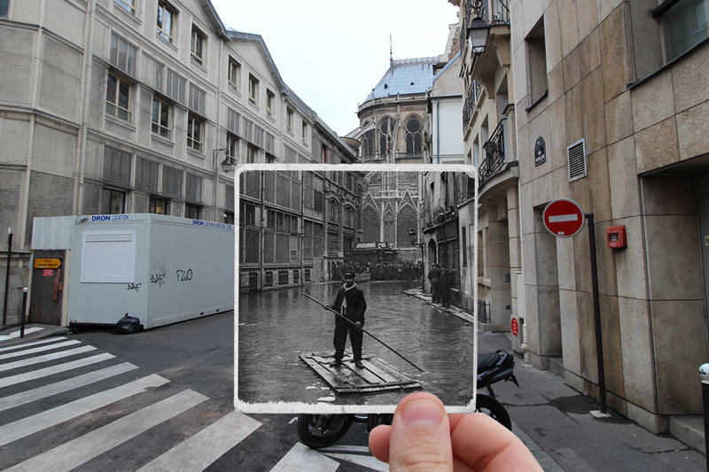then and now the 1910 great flood of paris vs 2016 floods