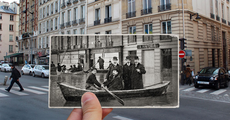 Then and Now: The 1910 Great Flood of Paris vs 2016 Floods