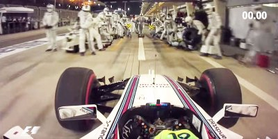 This is What a 2.27 Second F1 Pit Stop LooksLike