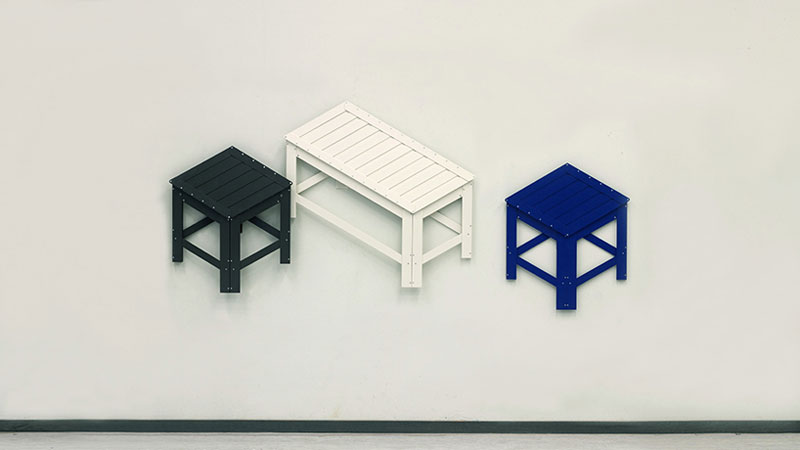 Collapsible Furniture Hangs on Your Wall When Not In Use by Jongha Choi (2)