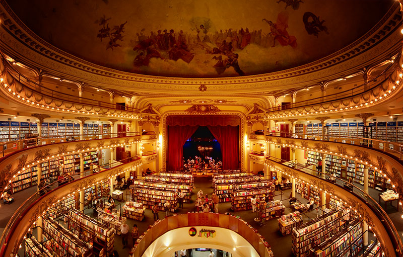 el ateneo grand splendid Buenos Aires Bookstore Inside 100-Year-Old Theatre (1)