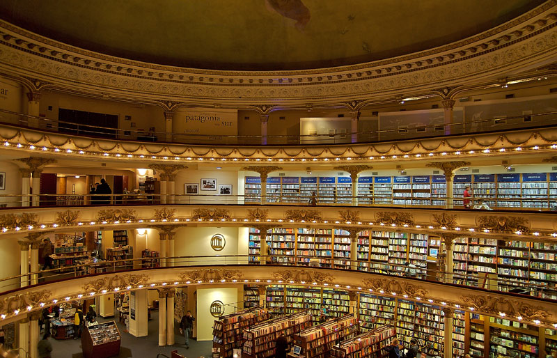 el ateneo grand splendid Buenos Aires Bookstore Inside 100-Year-Old Theatre (13)