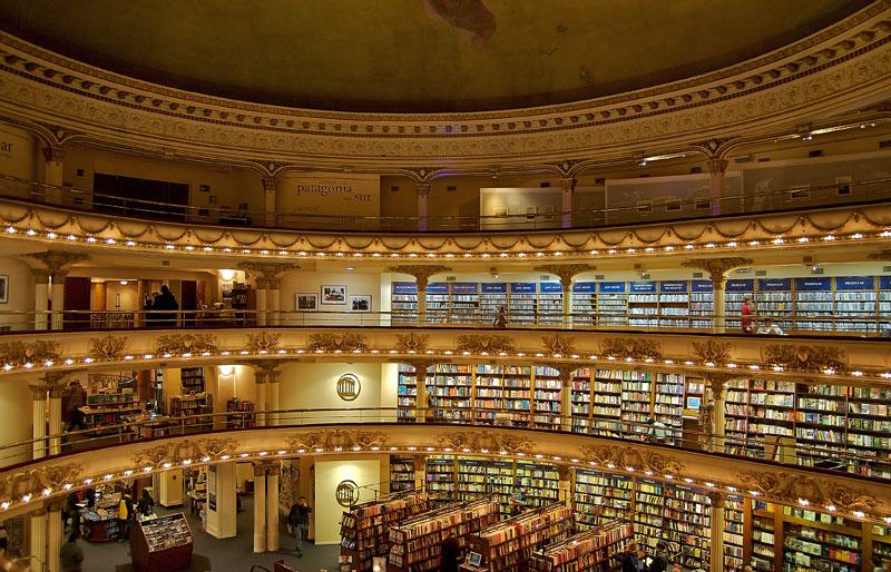 el ateneo grand splendid Buenos Aires Bookstore Inside 100-Year-Old Theatre (13)