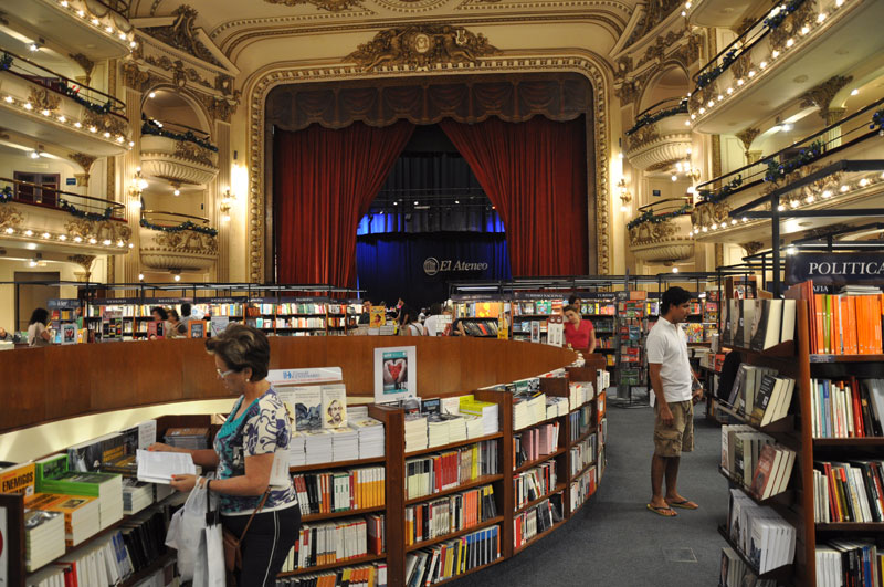 el ateneo grand splendid Buenos Aires Bookstore Inside 100-Year-Old Theatre (14)