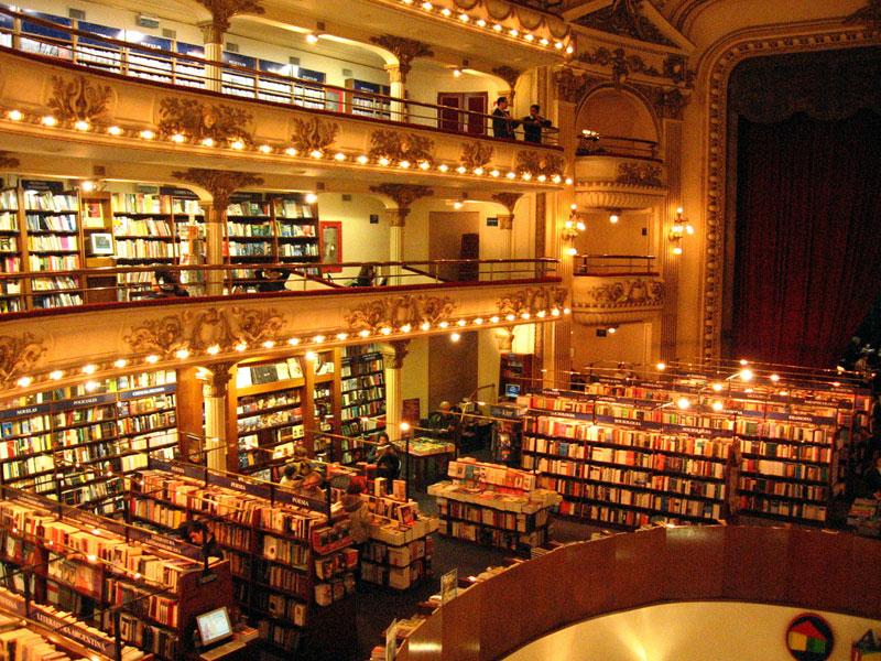 el ateneo grand splendid Buenos Aires Bookstore Inside 100-Year-Old Theatre (2)