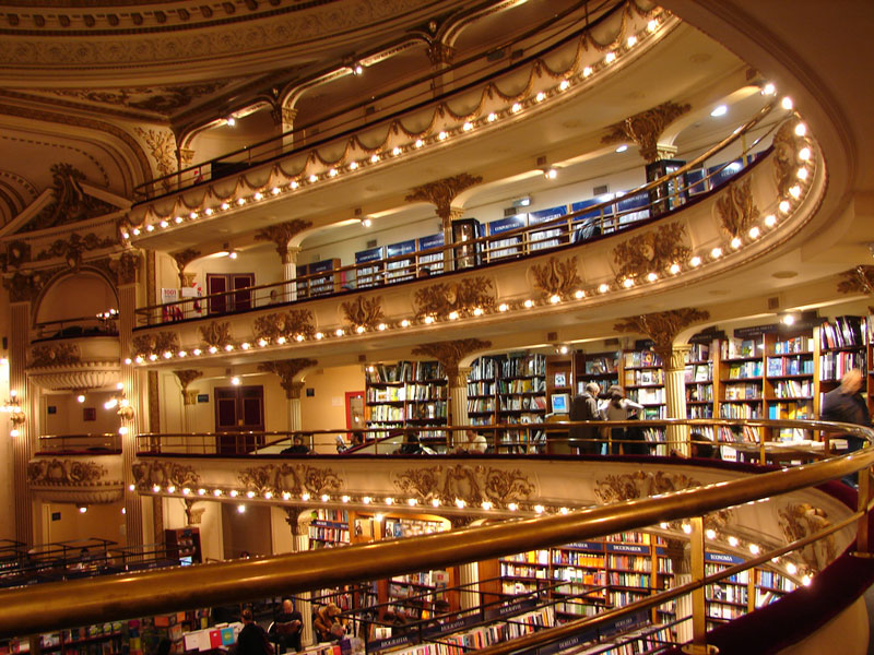 el ateneo grand splendid Buenos Aires Bookstore Inside 100-Year-Old Theatre (3)