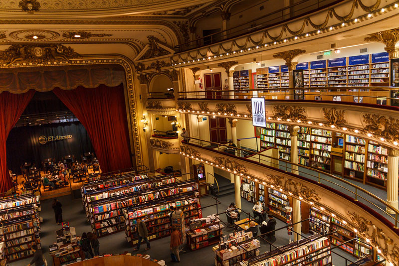 el ateneo grand splendid Buenos Aires Bookstore Inside 100-Year-Old Theatre (8)