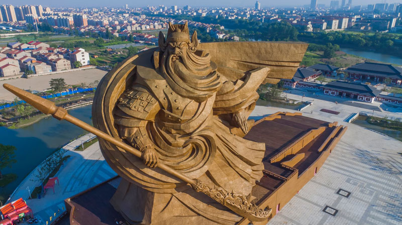 god of war guan yu statue jingzhou china (5)