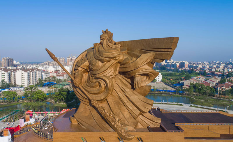 god of war guan yu statue jingzhou china (7)