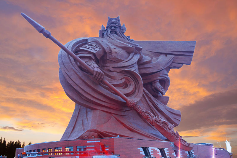 god of war guan yu statue jingzhou china (8)
