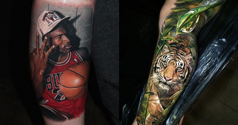 These Hyperrealistic Tattoos Look Like Photos Printed on Skin