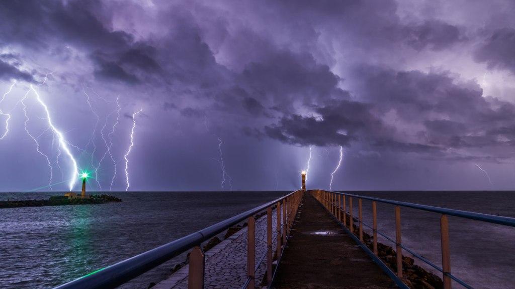 Picture of the Day: Purple Rain, Port-la-Nouvelle, France