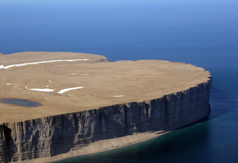 This Arctic Island Sanctuary Is Ringed By Cliffs And Home
