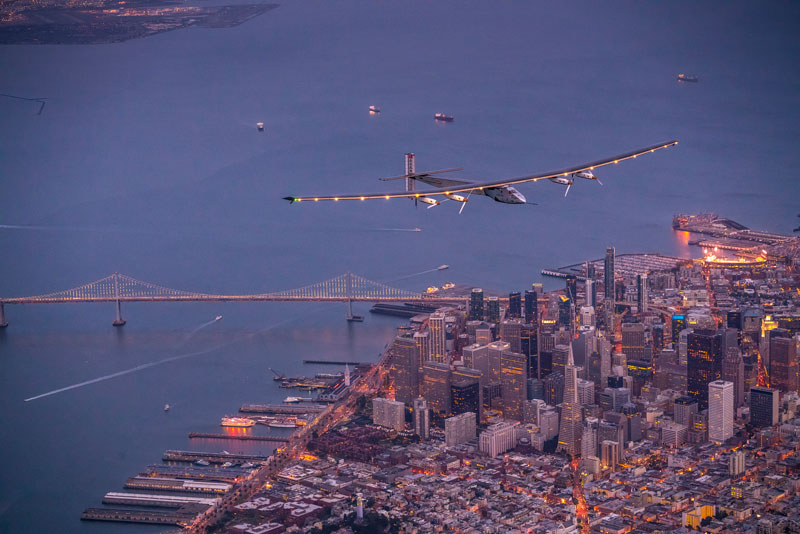 solar impulse Plane circumnavigates globe Without single Drop of Fuel (11)