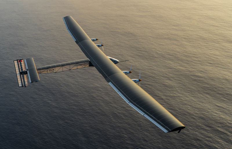 This Plane Just Circumnavigated the Globe Without a Single Drop ofFuel