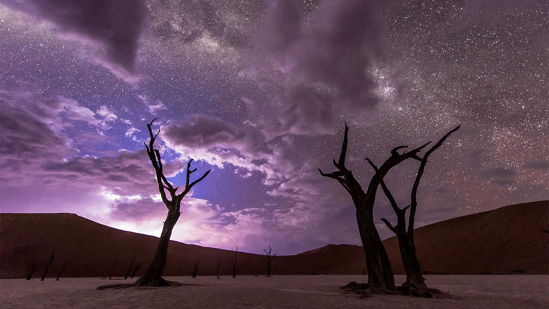 This Jaw Dropping Timelapse of the Night Sky Has It All