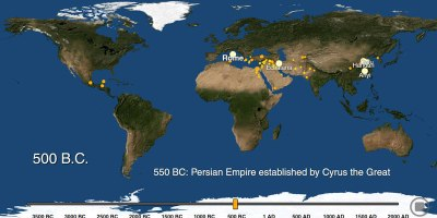 The History of Urbanization from 3700 BC – 2000AD