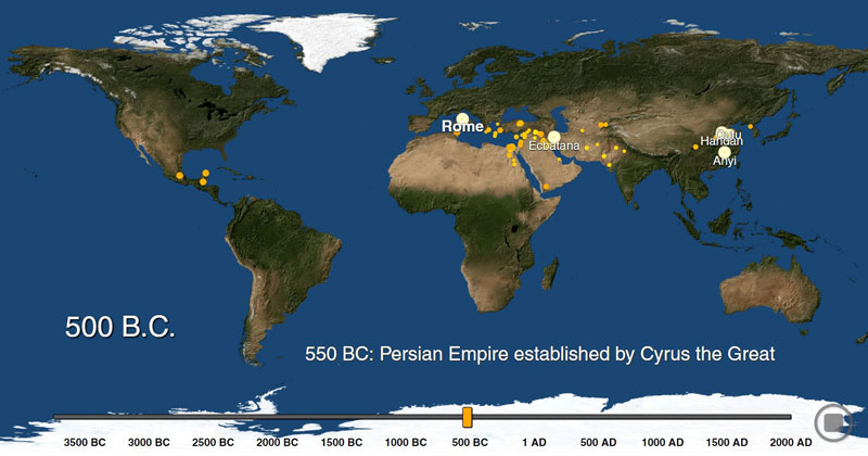 The History of Urbanization from 3700 BC – 2000 AD