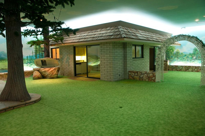 The 5000 sq ft cold war bunker underneath a modest for 5000 sq ft house