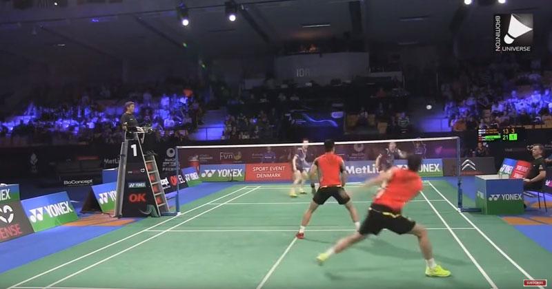 Amazing Badminton Rallies
