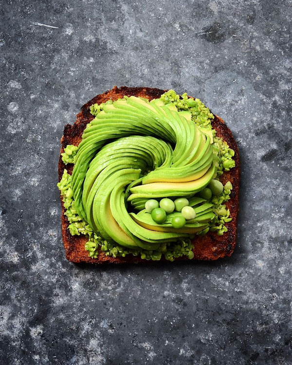 avocado food art by colette dike food deco (8)