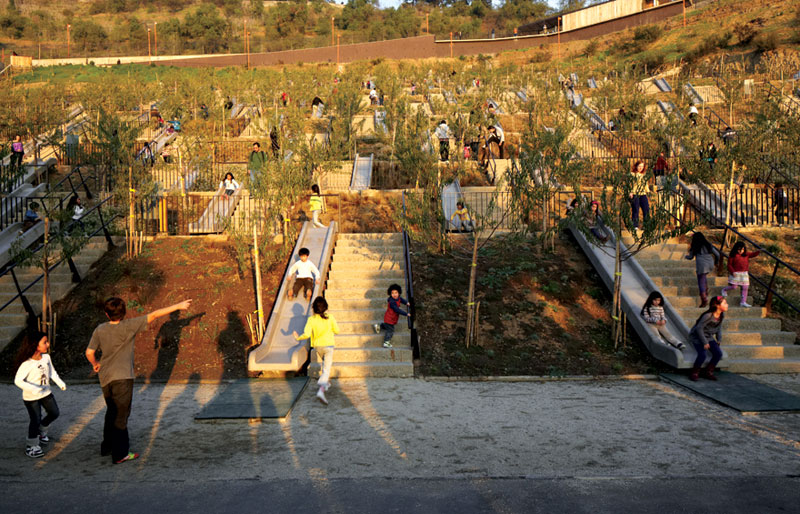 Architect Turns Unused Hill Into Amazing Public Park for Children