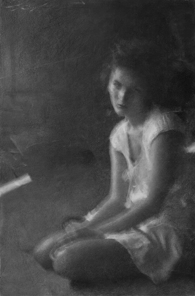 Charcoal Drawings by Casey Baugh (1)