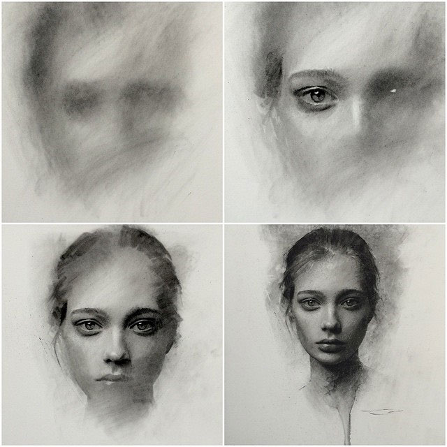 Charcoal Drawings by Casey Baugh (3)