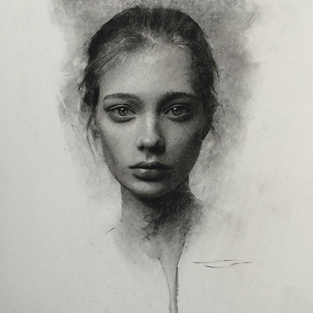Charcoal Drawings by Casey Baugh (4)