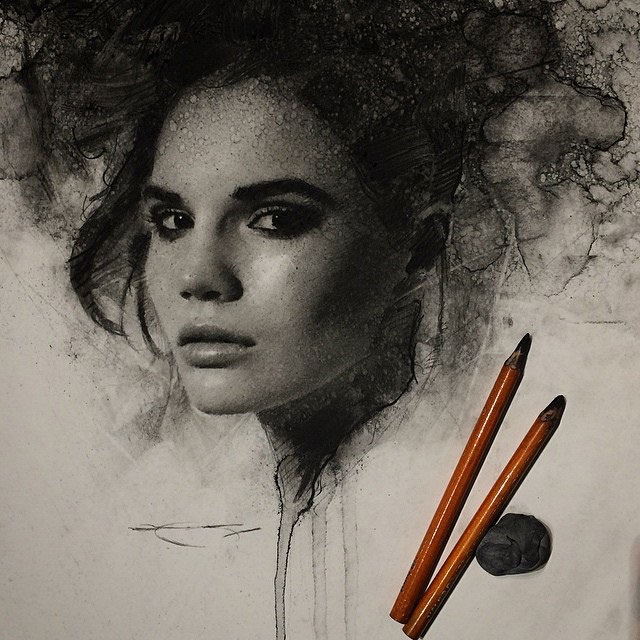 Charcoal Drawings by Casey Baugh (5)