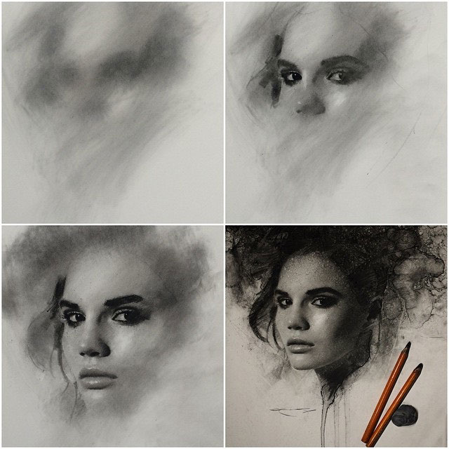 Charcoal Drawings by Casey Baugh (6)