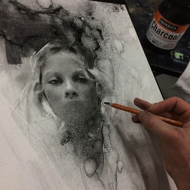 Charcoal Drawings by Casey Baugh (9)