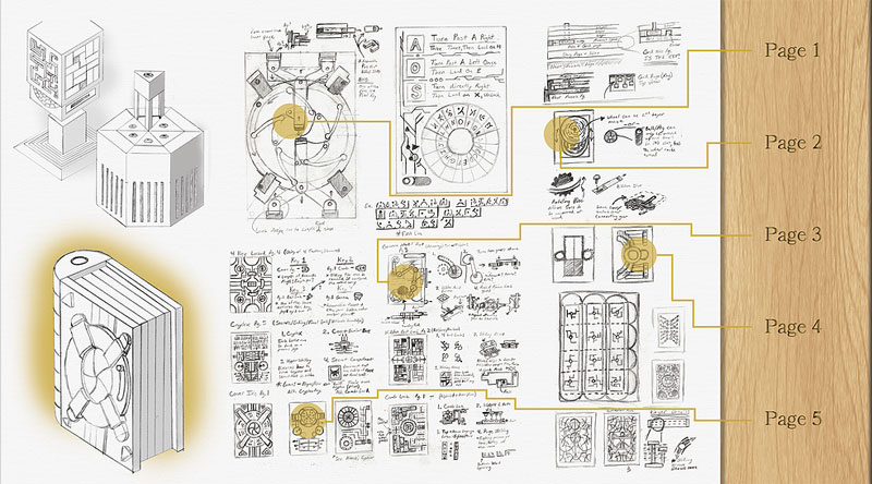 Codex Silenda Adventure Book Where You Must Solve a Puzzle To Unlock the Next Page (3)