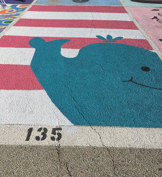 High Schools Let Their Seniors Paint Their Parking Spots (16)