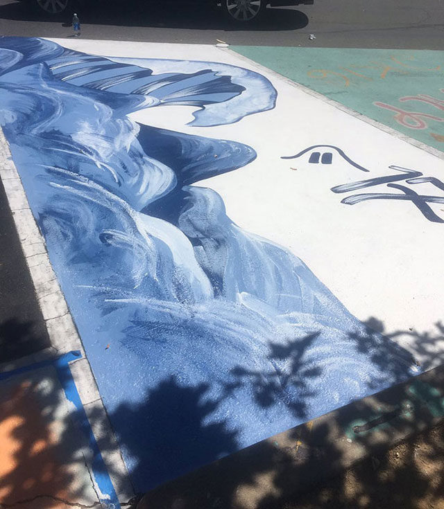 High Schools Let Their Seniors Paint Their Parking Spots (5)