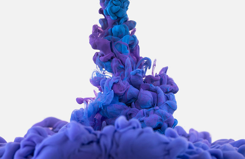 high-speed photos of ink dropped into water by alberto seveso (15)
