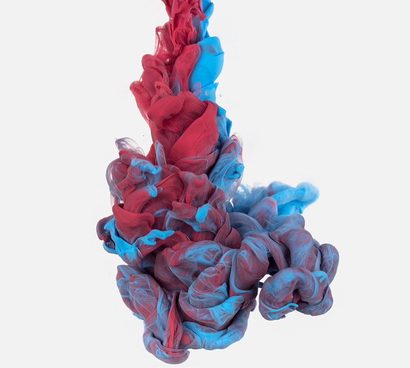 high-speed photos of ink dropped into water by alberto seveso (3)