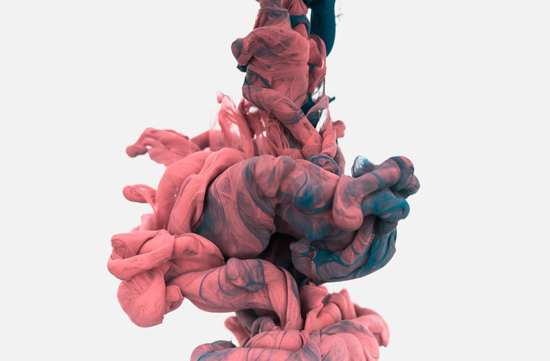 high-speed photos of ink dropped into water by alberto seveso (7)